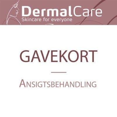 dermal-care-gavekort ansigtsbehandling